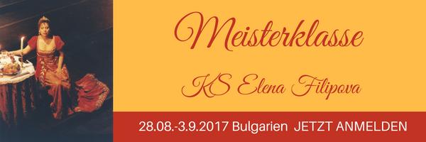masterclass KS elena filipova bulgaria